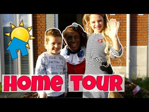 HOME TOUR AAN PARTY PIET PABLO !! Broer en Zus TV VLOG #86