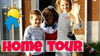HOME TOUR AAN PARTY PIET PABLO !! Broer en Zus TV VLOG #86