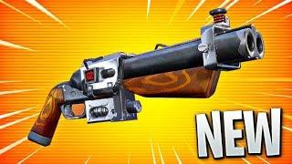 New Legendary SHOTGUN in Fortnite!! (Double Barrel Shotgun)