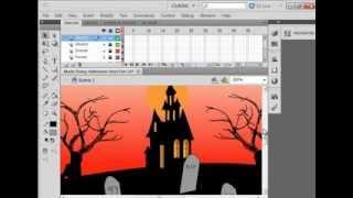 Flash Tutorial 83 Halloween Hunt Part 1