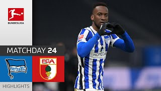 Hertha Berlin - FC Augsburg | 2-1 | Highlights | Matchday 24 – Bundesliga 2020/21