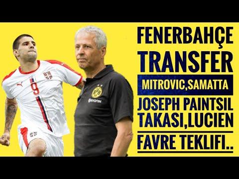 Fenerbahçe Transfer Mitrovic,Joseph Paintsil, Aurelio Buta,Lucien Favre..
