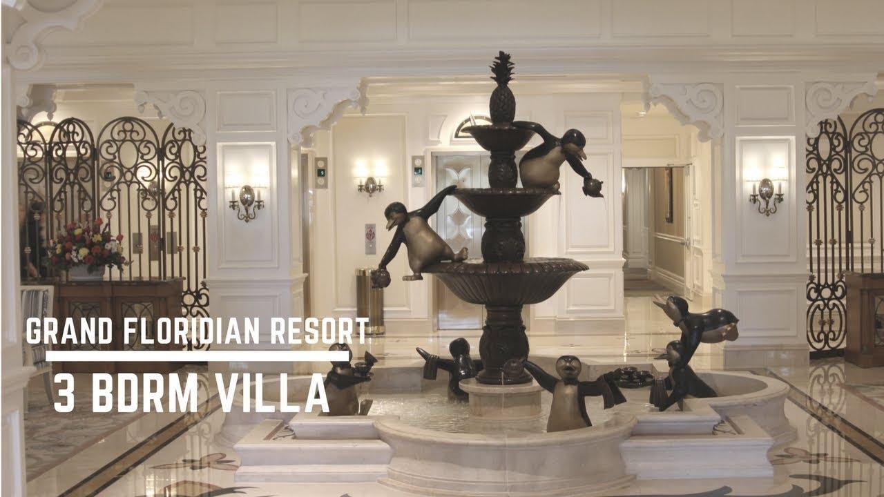 Disney 39 S Grand Floridian Resort Dvc 3 Bedroom Villa Tour Youtube