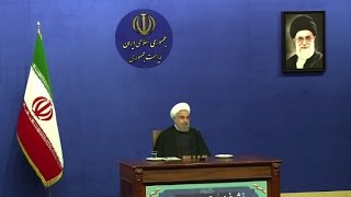 روحاني يعد بعام افضل بعد الاتفاق النووي