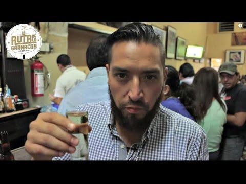 Un buen tequila en la Cantina La Fuente