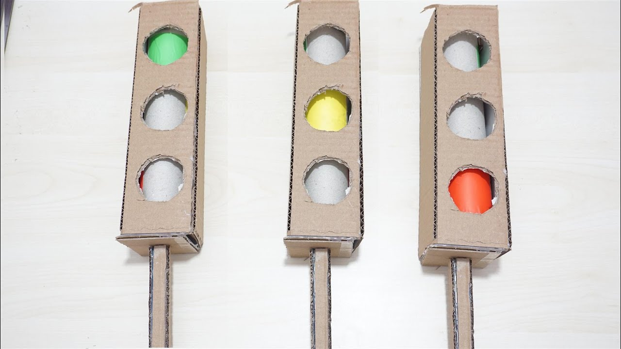 Trafik Lambası Trafik ışıkları Oyuncağı Yapımı çevirdi Olabilir