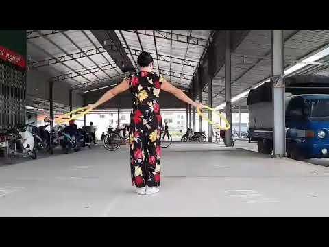 Hướng dẫn tập thể dục dưỡng sinh bài múa vòng tỉnh Bắc Giang năm 2020