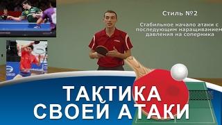 ТАКТИКА АТАКИ в НАСТОЛЬНОМ ТЕННИСЕ (Как тактически правильно делать топ-спин)