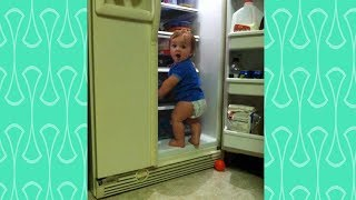FUNNY Baby Fails Videos  -  Sneaky Babies doing wrong things caught by their parents