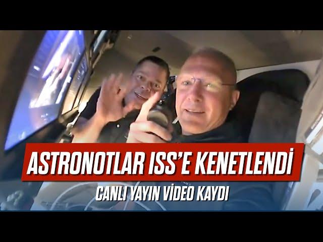 Astronotlar ISS'e kenetlendi - Barış Özcan