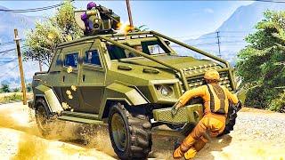 21-Player Motor Wars Minigame - GTA V Online Funny Moments | JeromeACE