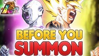 BEFORE YOU SUMMON: NEW LR Goku & Frieza | Dragon Ball Z Dokkan Battle