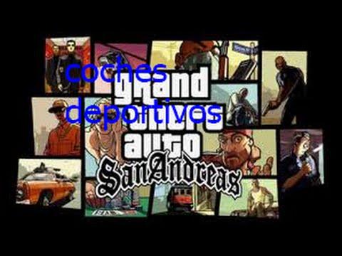 Gta San Andreas Claves Autos Deportivos