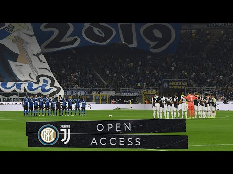 OPEN ACCESS | INTER 1-2 JUVENTUS | SPECIAL GUESTS AND A SPECIAL ATMOSPHERE AT SAN SIRO 📹⚫🔵