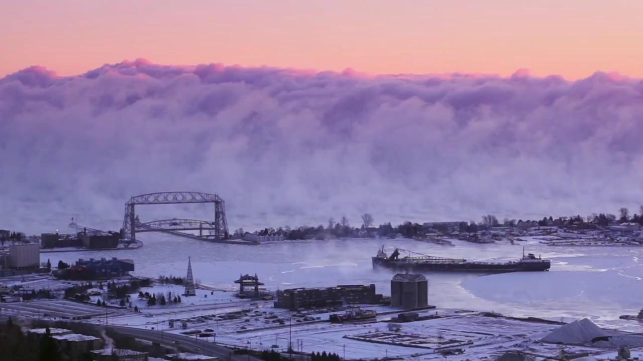 Duluth Sea Steam (Sea Smoke) - YouTube | title