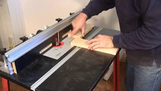 Setting Up and Using a Router Table - A woodworking video