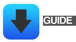 додаток iDownloader - завантажувач і менеджер завантажень! iOS для iPhone, iPad ставку керівництво як користуватися