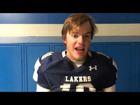 Skaneateles quarterback Pat Hackler reflects on game winning touchdown over Chenango Forks