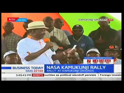 NASA holds rally at Kamukunji grounds