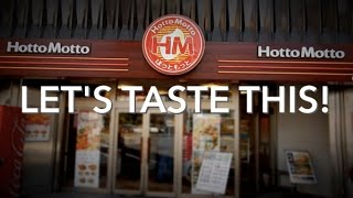 Japan Makes Fast Food Fresh, Friendly, & Fun! Hotto Motto - Let's Taste This!