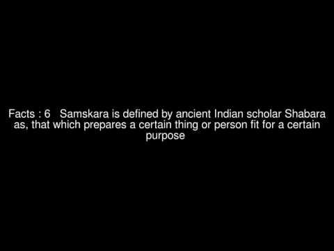 Etymology and meaning of Sanskara (rite of passage) Top 9 Facts