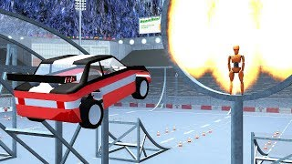 RC Toy Car Jump Arena Freestyle Stadium - BeamNG.drive
