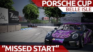 Starting from the pits - Porsche Cup Belle Isle