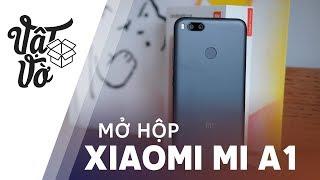 Mở hộp Xiaomi Mi A1: camera kép, thuần Google