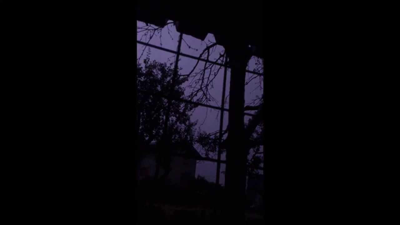 Heavy Rain Thunder On A Tin Porch Roof Sleep Meditation