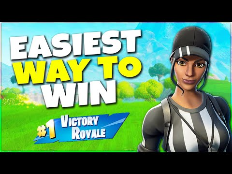 The EASIEST Way To Win In Fortnite | Season 9 Basics