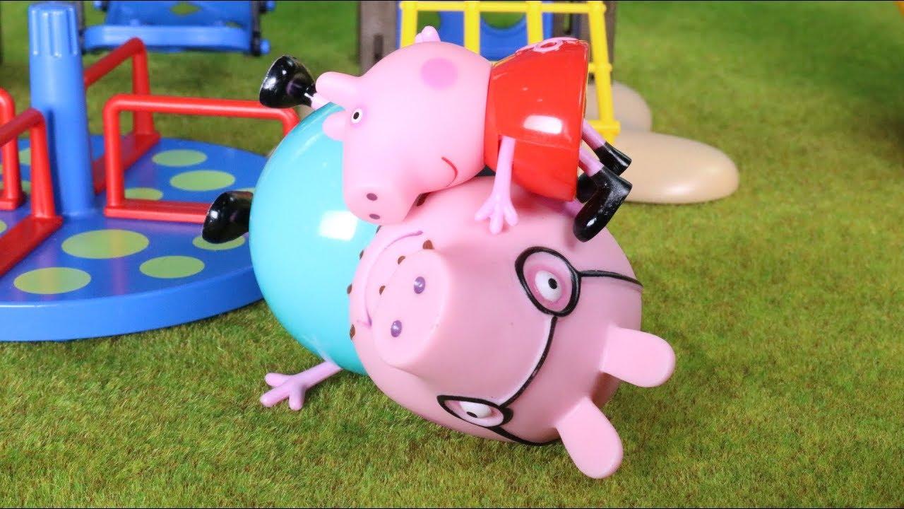 Día familiar en el parque 💓Historias de Peppa Pig en español