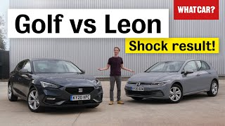 2020 VW Golf vs Seat Leon review - why the Golf ISN'T the best family car you can buy | What Car?