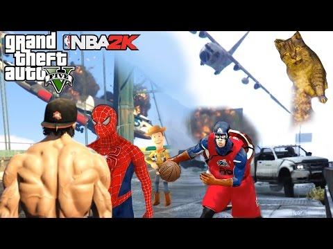 2016 EPIC PC MODS GAMING COMPILATION GTA NBA Stunts & Fails HD 60FPS