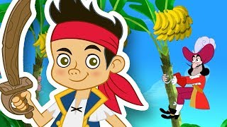 Jake and the Never Land Pirates - Go Bananas! - Jake's World Game - Kids TV 123 Channel