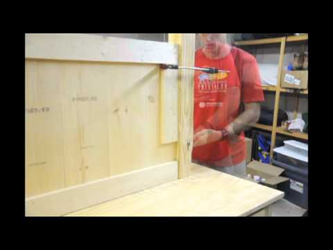 Attaching the Headboard Posts