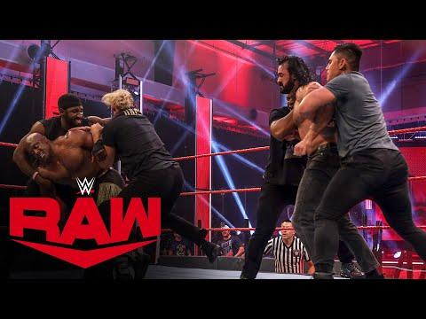 Drew McIntyre and Bobby Lashley engage in wild brawl: Raw, May 25, 2020
