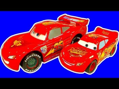 Disney Cars Collection 2 Crash Drifting RC Lightning McQueen, Cars2 Raceway, Lego & BRUM