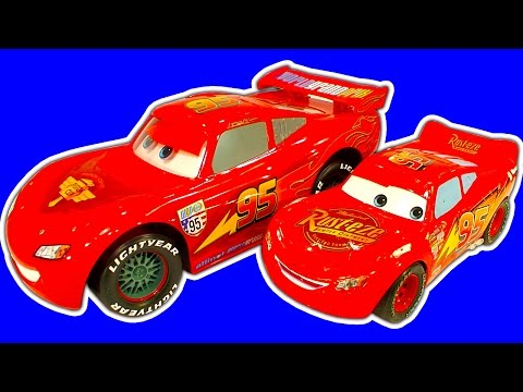 Disney Cars Collection 2 Crash Drifting RC Lightning McQueen, Cars2 Raceway, Lego & BRUM