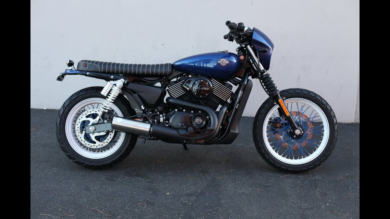 Harley Davidson Street 500 750 Brat Kit