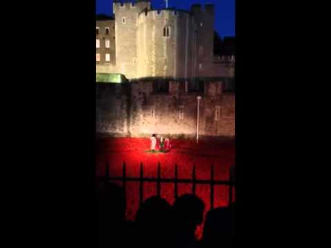 Last post played last night at tower of London
