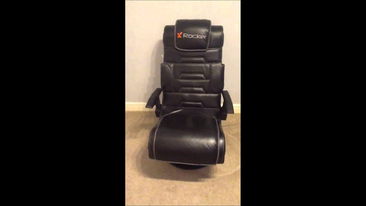 X-Rocker pro gaming chair - YouTube