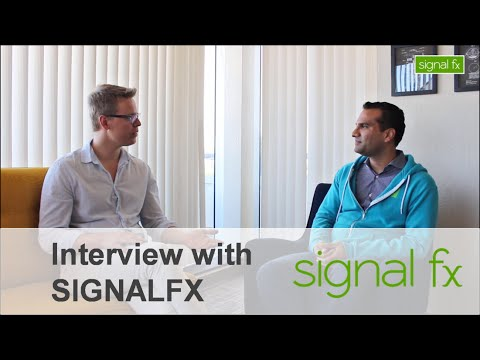 SignalFx | Interview with its CEO & Co-Founder - Karthik Rau