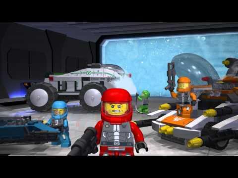 Lego galaxy squad мультфильм