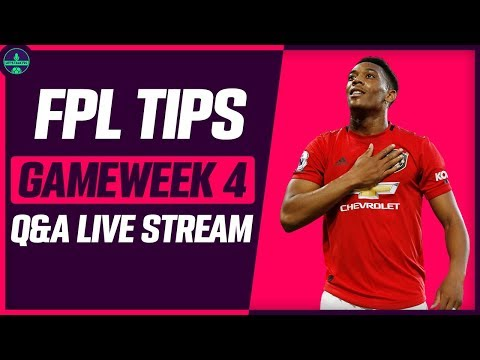 FPL TIPS FOR GAMEWEEK 4 | MARTIAL INJURED! | Fantasy Premier League 2019/20