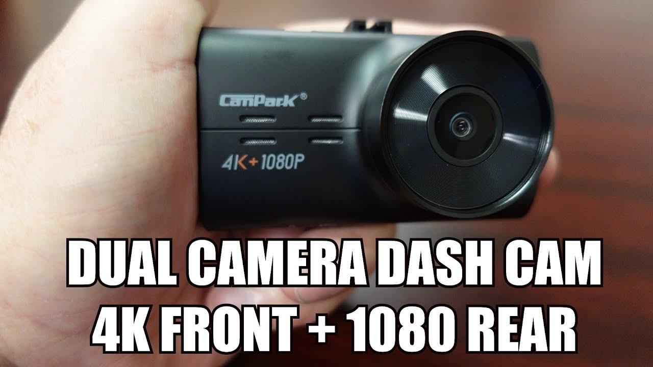 Campark 4K Dash Camera