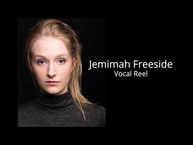 Jemimah Freeside - Vocal Reel