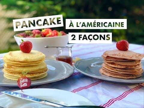 🥞pancakes-À-l'amÉricaine-pancakes-à-la-purée-de-fruits-frais-🍓🥞tuto-recette-facile
