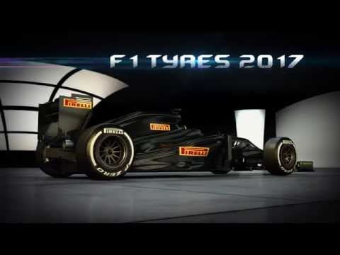 F1 2017 - ¡Enormes! Así serán los neumáticos Pirelli