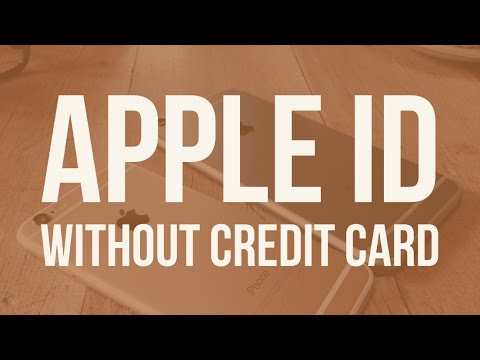 Easiest way to create an Apple ID (without credit card) 2017