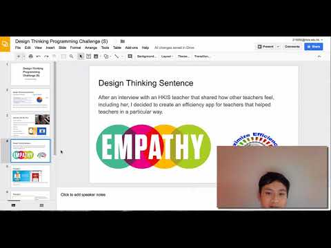 Design Thinking Programming Challenge